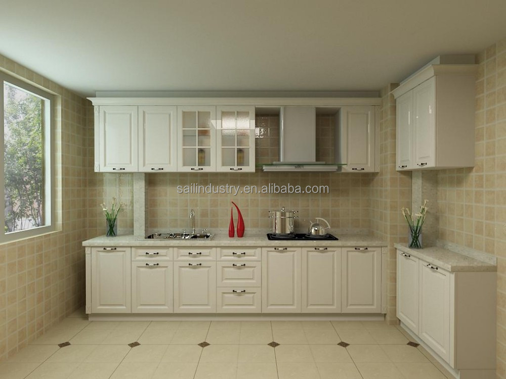 Cheap chinese prefab kitchen cabinet kitchen cabinet for Prefab kitchen cabinets