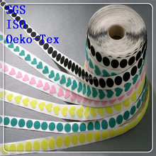 2015 OEM and ODM welcomed imported adhesive velcro glue dots for women slippers