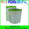 Recyclable biogradable white aluminum foil bag