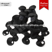 Body wave 100% human virgin Indian Remy Hair Weft,many other styles in stock