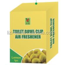 Toilet bowl clip air freshener