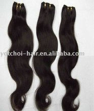 Grade AAAAA body wave Top quality in stock hair weft