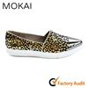 MK082-2 LEOPARD women ladies new fashion shoes genuine leather shoes leopard pointed toe shoes