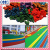 Colorful EPDM Rubber Granules Material for playground surface/ruuber track FL-G-V-141208