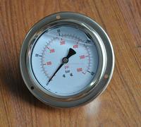 hydraulic oil pressure gauge/ water pressure gauge/100mm Oil pressure gauge