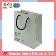 Hot Sell Shopping Paper Bag Apparel Packaging Bags With Cord Handle