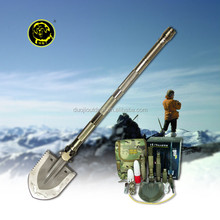 outdoor power products/ multifunction camping and hiking tools/ survival shovel