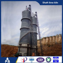 coal or coke fired green energy lime vertical kiln for calcining petroleum coke