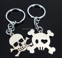 2015 Special design Halloween gifts Halloween key chain skeleton shape keychain for Halloween