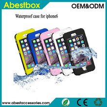 Waterproof Heavy Duty Hybrid Swimming Dive Case For Apple iPhone 6 4.7 inch Water/Dirt/Shock Proof Phone Bag For iPhone6