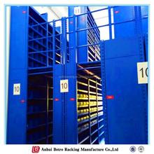 China adjustable Q235 power coating ISO9001 multi-layer steel warehouse multi-level mezzanine flooring