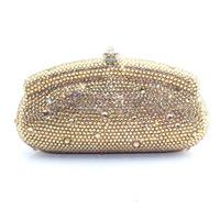 Fashion Bling Handmade Crystal Ladies Evening Handbag