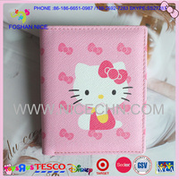 Hot sale PU leather girls wallets and purses 2014