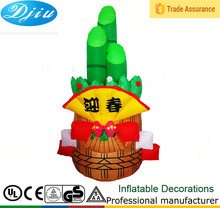 DJ-XT-37 inflatable welcome spring the bamboo china culture indoor decoration