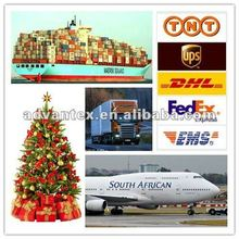 Christmas decoration shipping from china to Africa