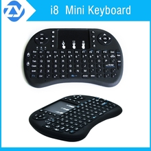 Rii Mini i8 2.4G Wireless Keyboard air mouse with Touchpad for PC Pad Google Android TV Box