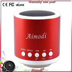 2015 hot sales music mini bluetooth speaker with FM and TF card