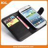 Hot Selling PU Leather Wallet Flip Stand Cell Phone Case For Samsung Galaxy Express i8730