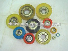 Poliuretano personalizada ruedas de poliuretano accesorios Pu de ricino piezas de sellado elastómero