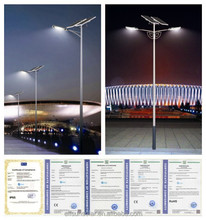 CSA UL DLC ETL TUV outdoor 120w integrated all in one solar led street light