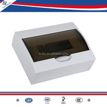 TSM Type of Surface Mounted 12 Way/12 Pole Plastic Electrical Distribution Box