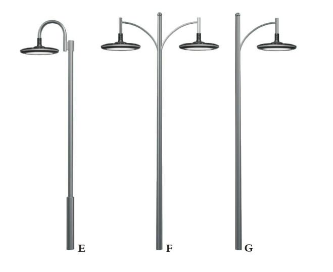 iluminacao de jardim tipos : iluminacao de jardim tipos:jardim poste de luz ao ar livre poste de iluminação jardim-Postes de