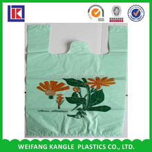 China wholesale foldable trolley vest carrier shopping bag with handle