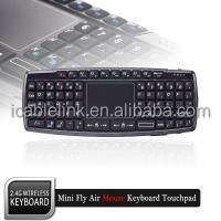 mini wireless keyboard with touchpad for samsung galaxy 10.1 panasonic smart tv viera