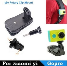High Quality 90 Degree Clip Go Pro Clip for GoPros Hero3+/3/2/1 For Xiaomi Yi