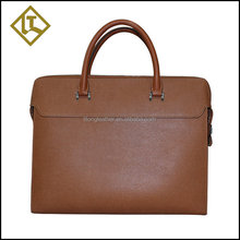 2015 Good quality best sale fireproof leather briefcase for lawyers