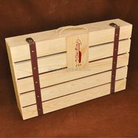 Individual Wooden Wine Box/Crates