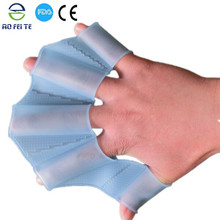 New products 2015 innovative product silicone mermaid tail for swim fins for hands