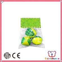 sedex fuente de la fábrica los ftalatos libre y de alta calidad de cuero pelotas de malabares