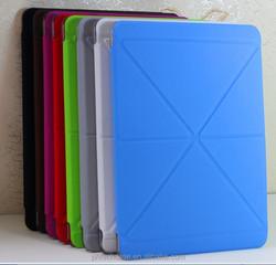 Creative Transformer PU smart cover leather case for Ipad AIR 2 /ipad 6