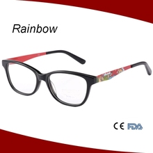 Lovely children optical frames with clear drawing painting
