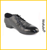 simple design stain removal leather shoes for men