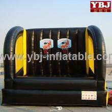 2015 guangzhou inflatable kids basketball hoop game/inflatable basketball hoop