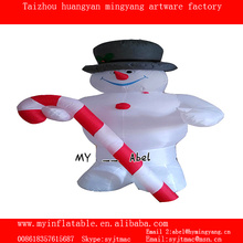chrsitmas decoration snowman inflatable Christmas snowman