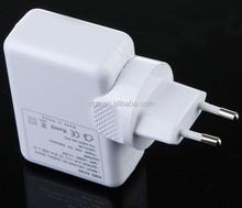 6 Slot USB Travel AC Charger Adapter Plug Replacement mini socket 4 Slot USB Travel AC Charger Adapter