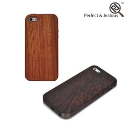 new products Engraving cell phone wood cover for iphone5