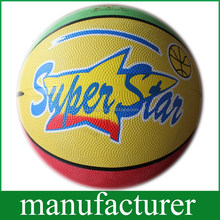 GY-DB002 Hot Sale Rubber customized basketball for children