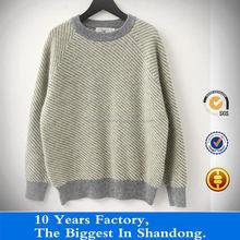woman twill machine knit sweater warmly