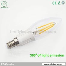 2015 new arrival high lumen 110lm/w led candle/ceiling light for modern chandelier lamp