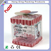 Soft crease clear plastic folding box for gift Packaging