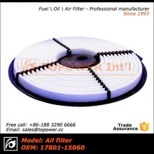 Universal Performance Turbo Air Filter With Heat Shield