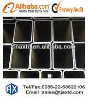 BS 1387 ASTM 123 ERW, Round Square Rectangular Galvanized Steel Pipe
