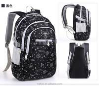 High Quality 400D twill nylon school bags for kids OEM