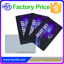 Lowest price proximity 125khz ID tk4100 chip card with printable