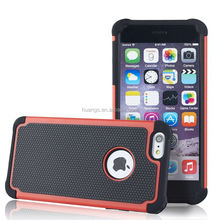 Buy direct from china Silicone Phone Case Two in one Football Covers slim armor case for iphone 6 wholesale