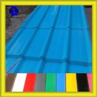 corrosion resistant color coated corrugated iron sheet / galvanized corrugated sheet price